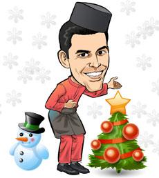 hari raya haji christmas