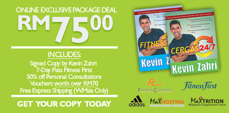 Fitness 24/7 Book Promo