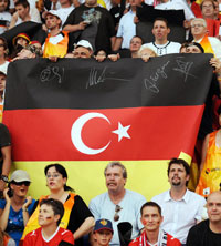 Germany Turkey Flag