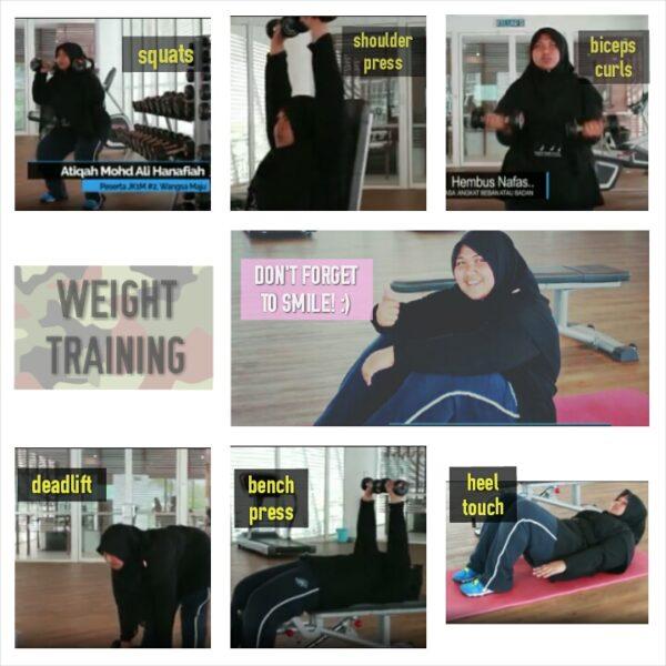 Sesi Weight Training bersama Sifu KZ