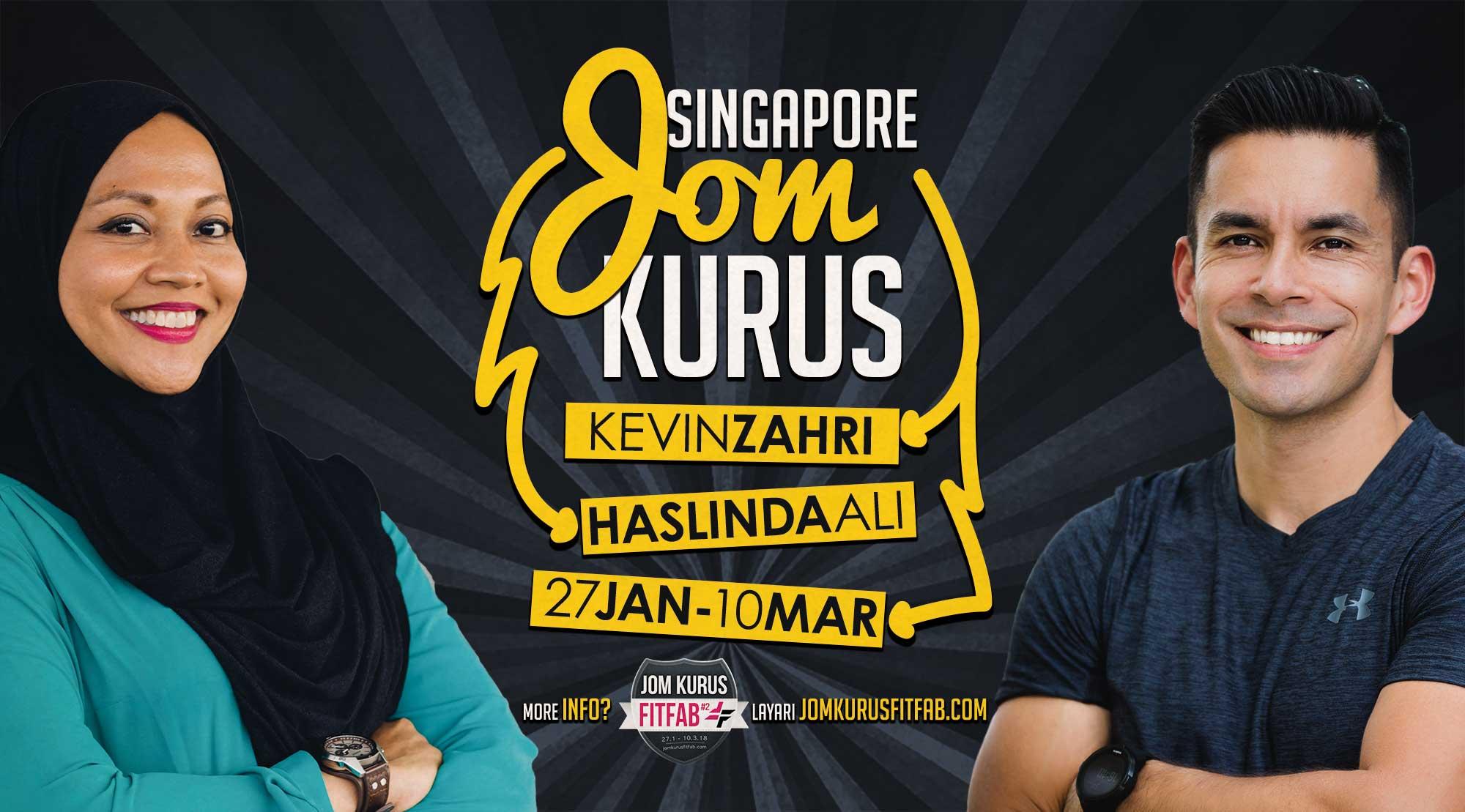 Jom Kurus Singapore FitFab Season 2 - KevinZahri.com